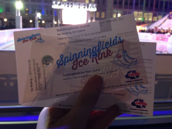Spinningfields ice rink