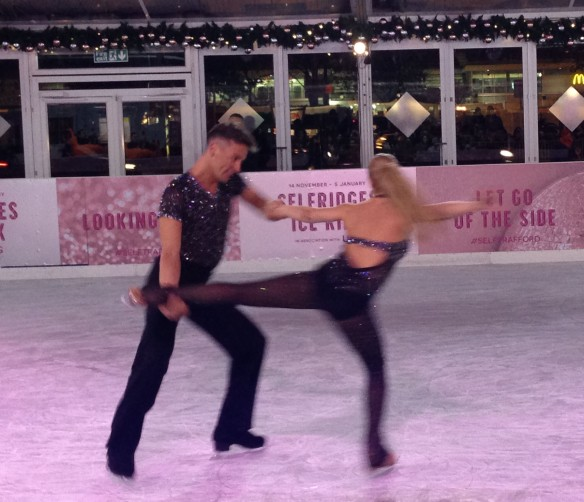 Dancing on Ice Matt and Maria