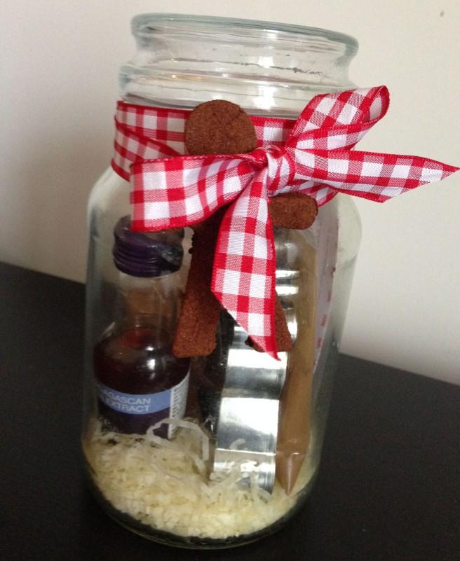 Cookie gift jar