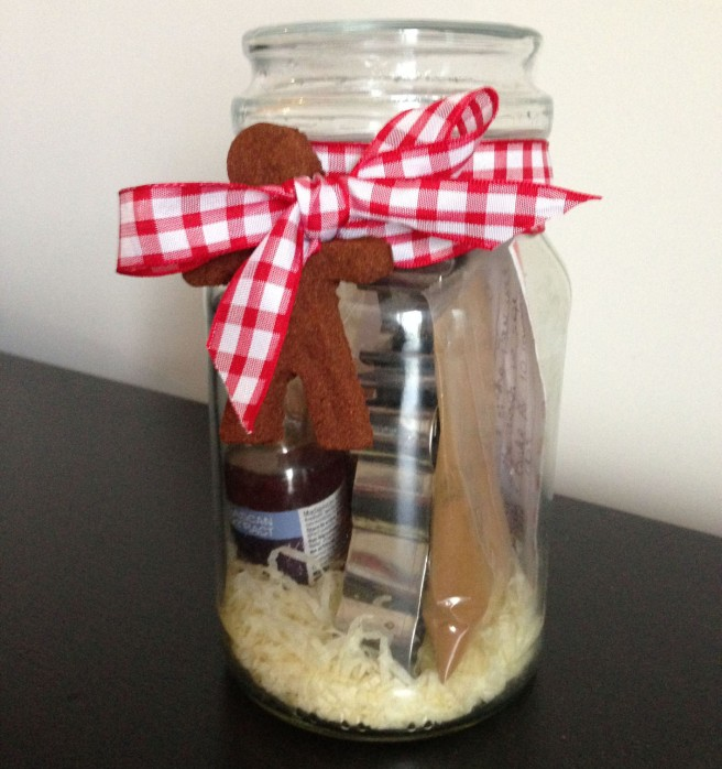 DIY Baking gift jar