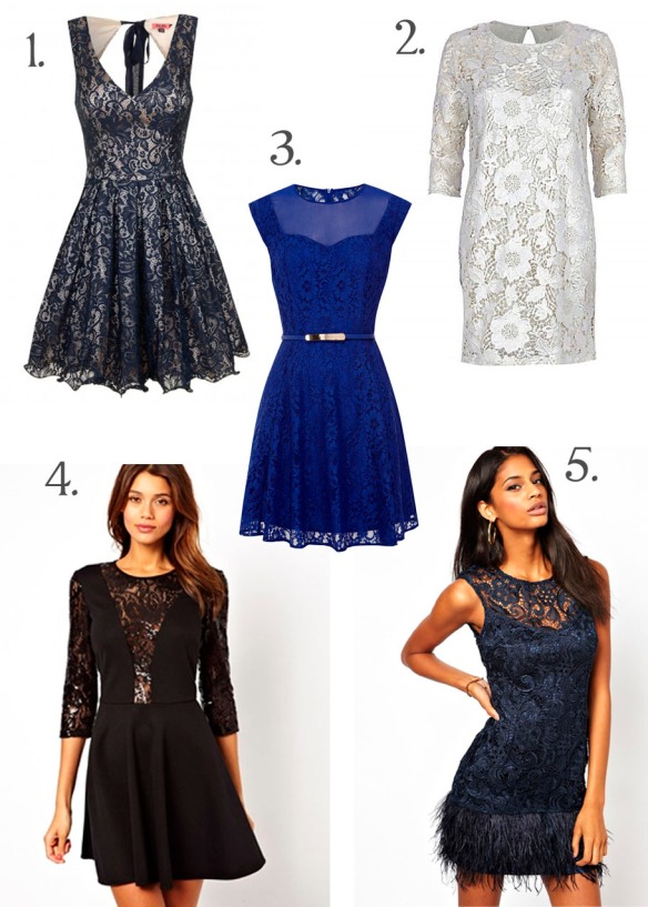 lace party dresses