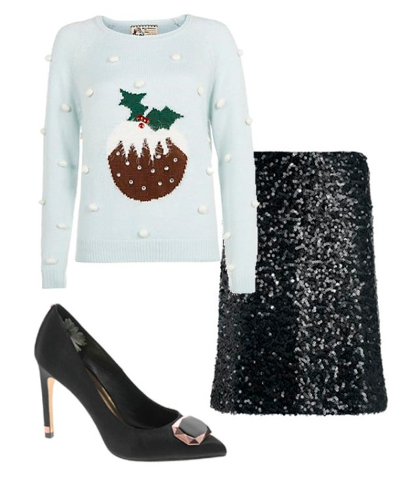 Christmas jumper outfit