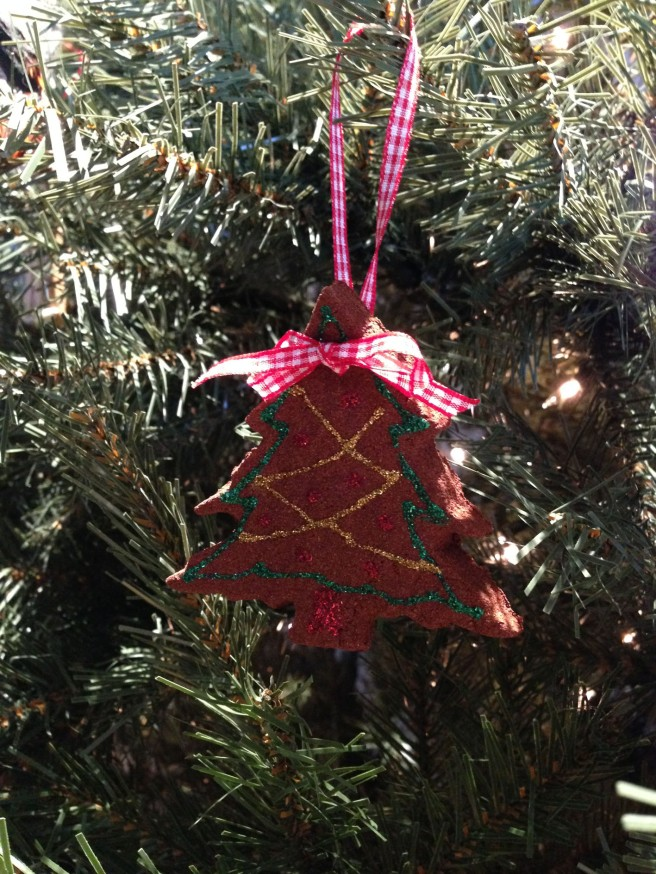 homemade tree ornament