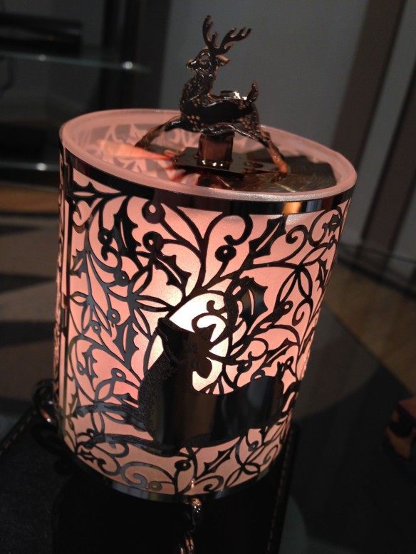 Magical spinning candle holder