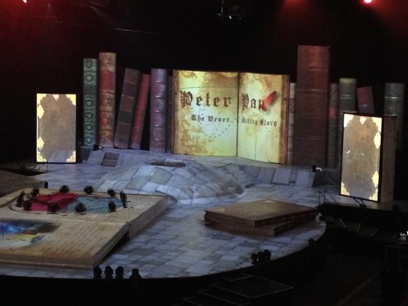 Peter pan arena tour show