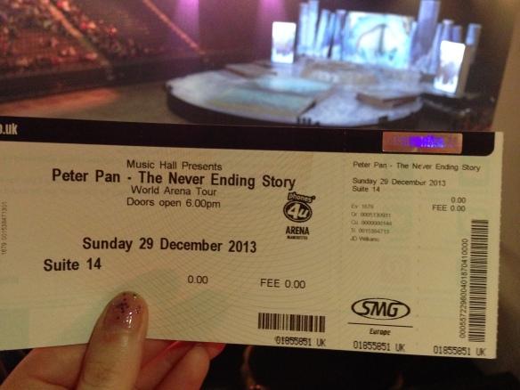 Peter Pan neverending story