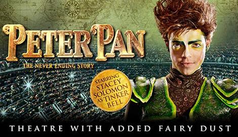 Peter Pan arena tour