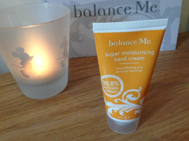 Balance Me moisturising hand cream