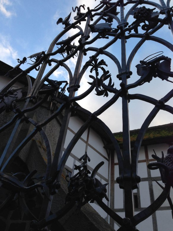 Globe Theatre gates
