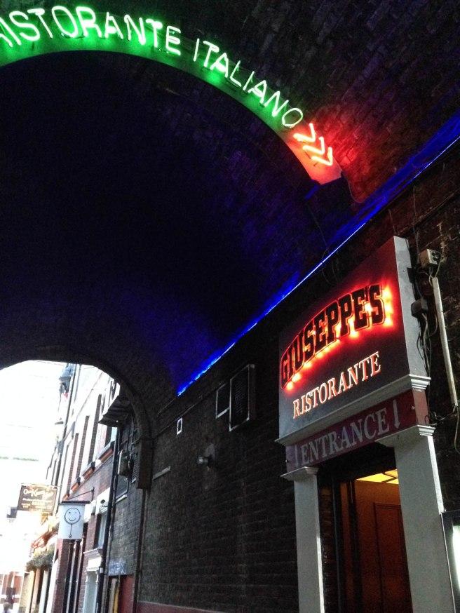 London Italian restaurant