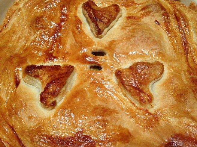 Valentines pie