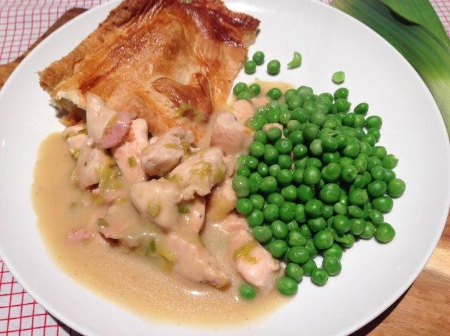 recipe chicken and leek pie