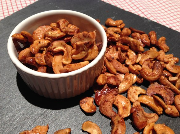 spicy cayenne nuts
