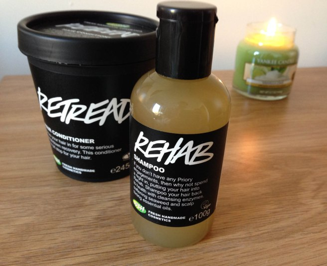 Lush hair products