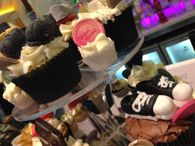Shoe cupcakes