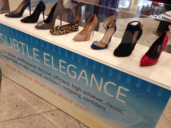 Trafford centre shoe event