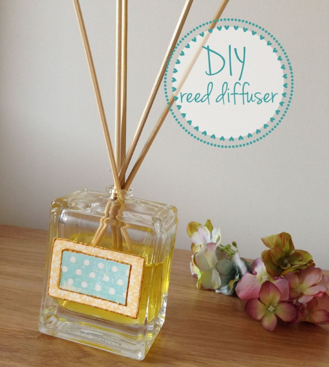 DIY reed diffuser