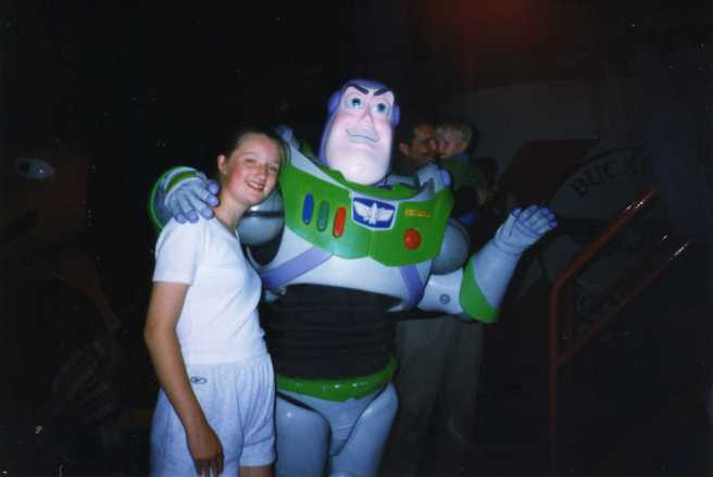 Buzz lightyear disneyland