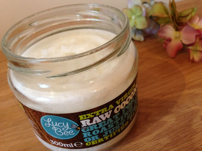 Lucy Bee's coconut oil