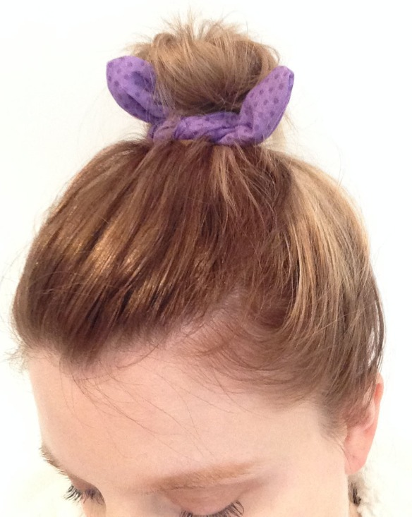 Wired hair bow