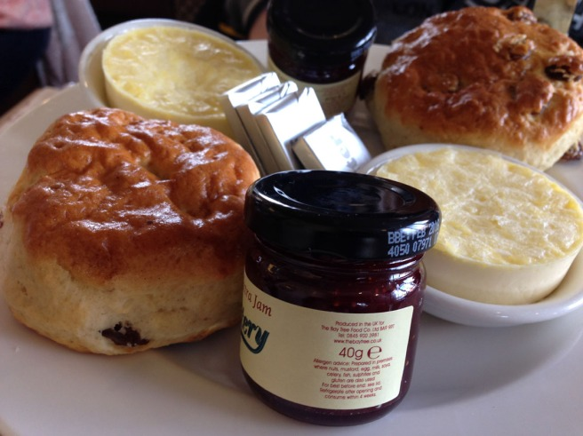 tea and scones Manchester