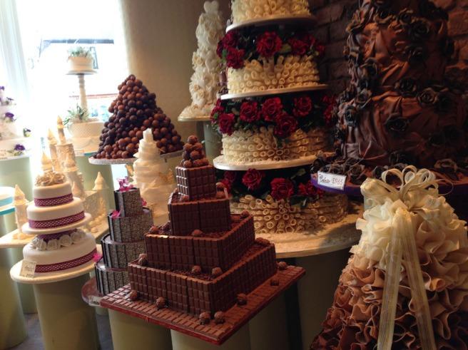 Manchester wedding cakes