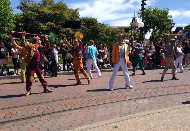 disney spring dancers