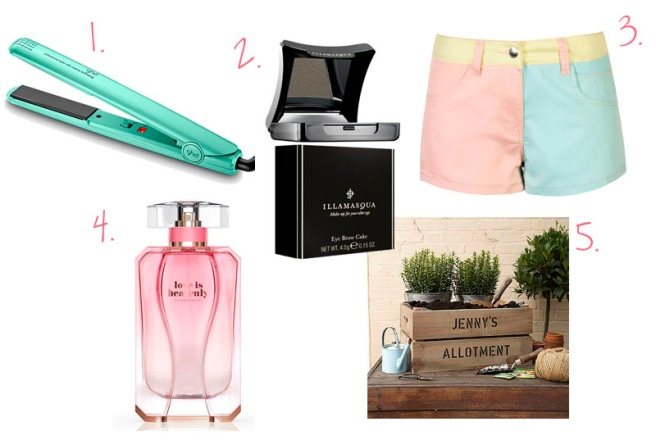 wishlist for summer