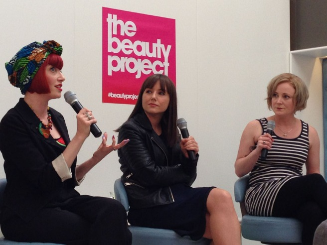 beauty project panel