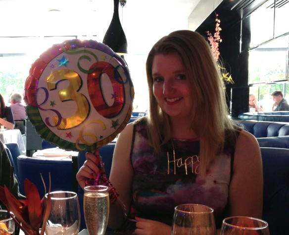 30th birthday meal