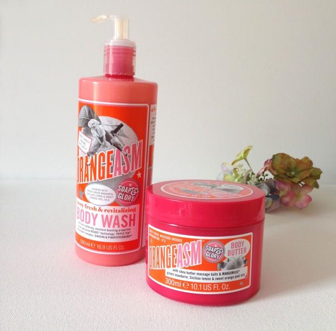 soap and glory orangeasm