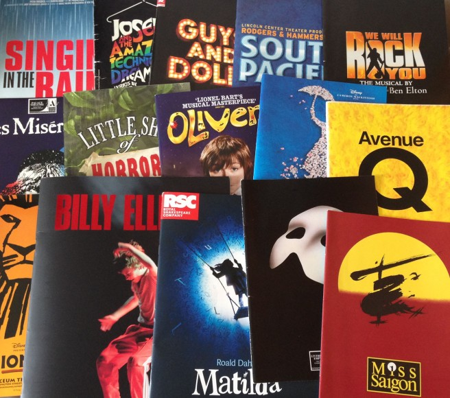 musical theatre programmes