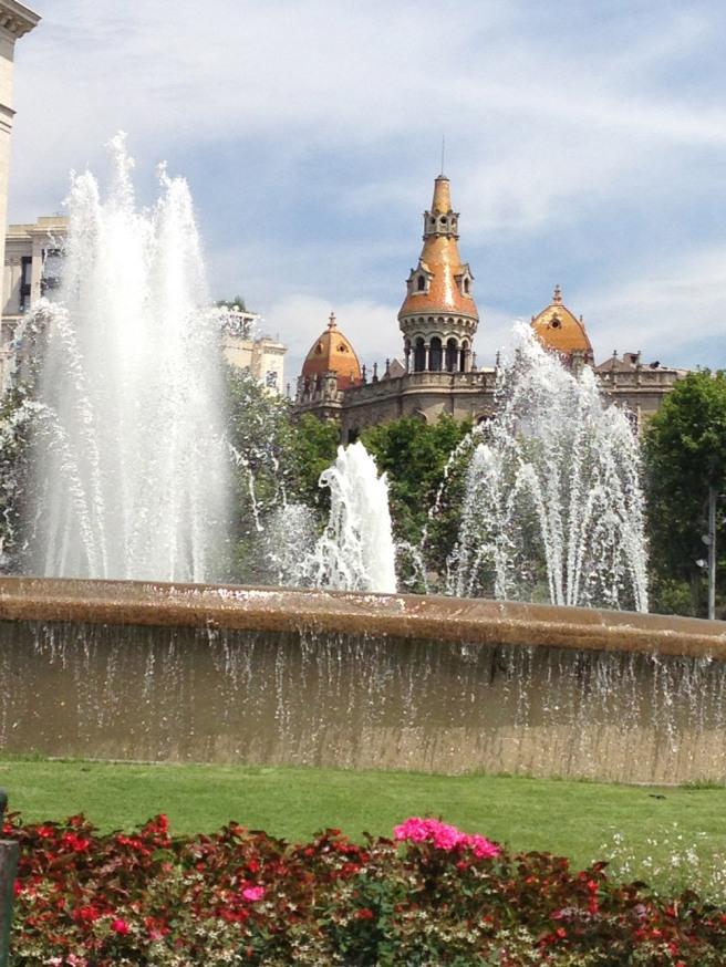 Main barcelona square