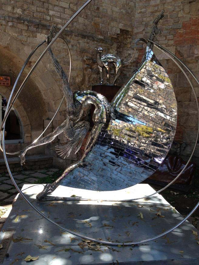 Sculpture in Barcelona
