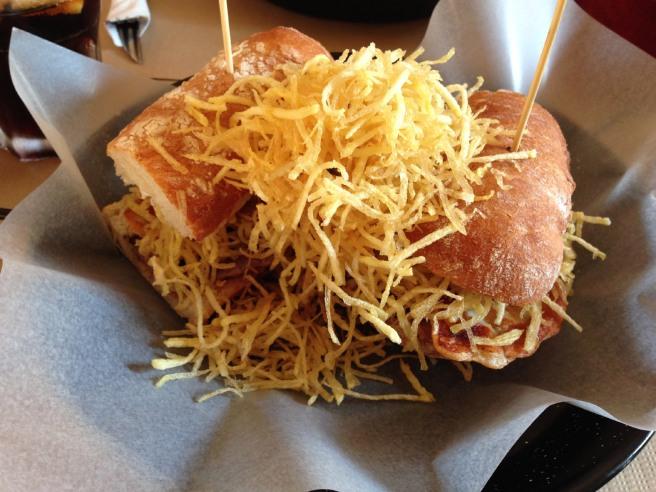Argentinian burger