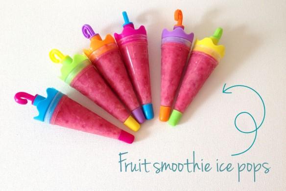 DIY fruit popsicles