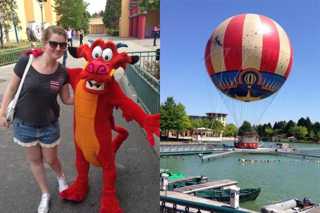 Disneyland Paris holiday snaps