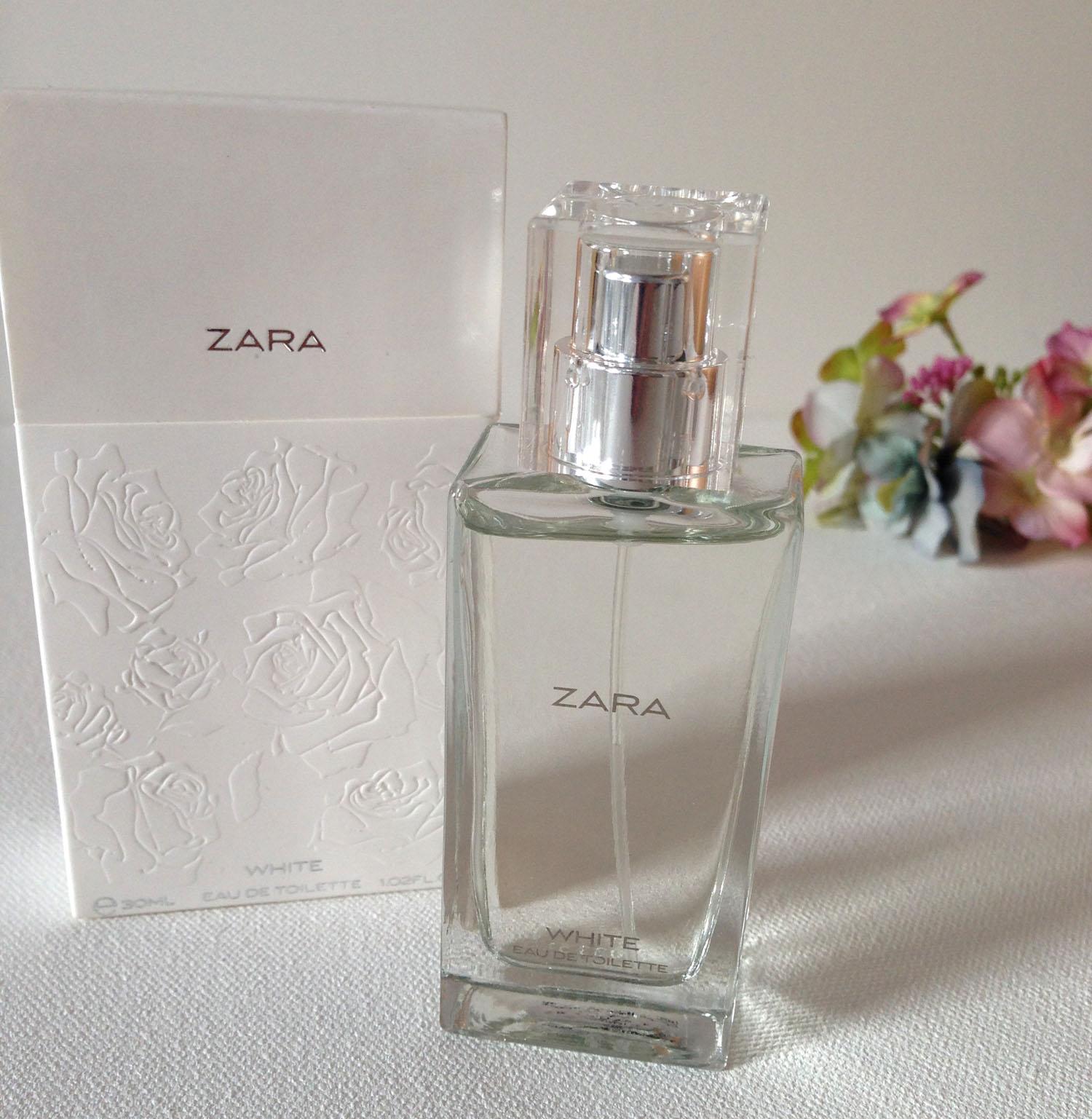 Summer Perfume Shopping Zara White Edt English Rose From