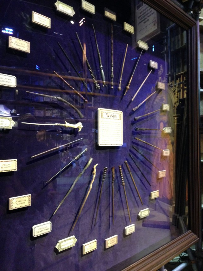 Wands from Harry Potter