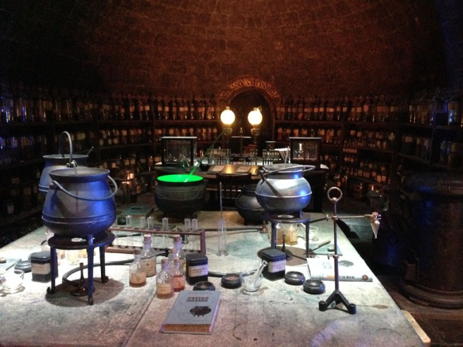 Harry Potter potions classroom