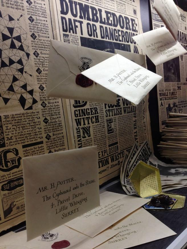 Harry Potter Hogwarts letters