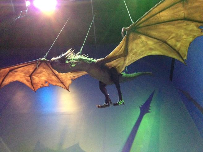 Harry Potter dragon
