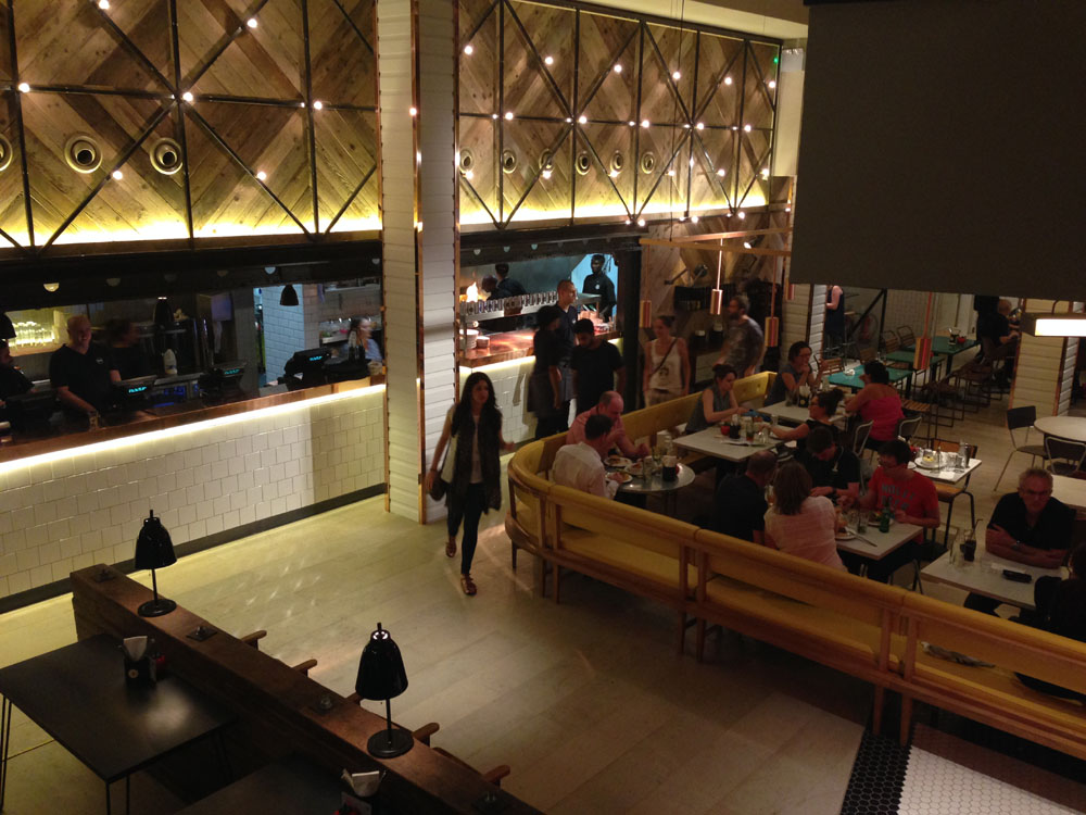 Gourmet Burger Kitchen grill warming in Manchester – English Rose ...