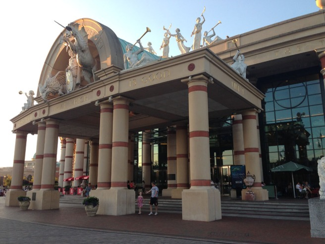 intu Trafford centre the orient