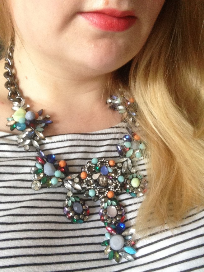 statement jewel necklace