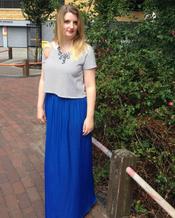 summer maxi outfit