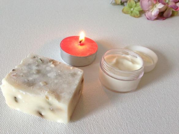 Handmade spa goodies