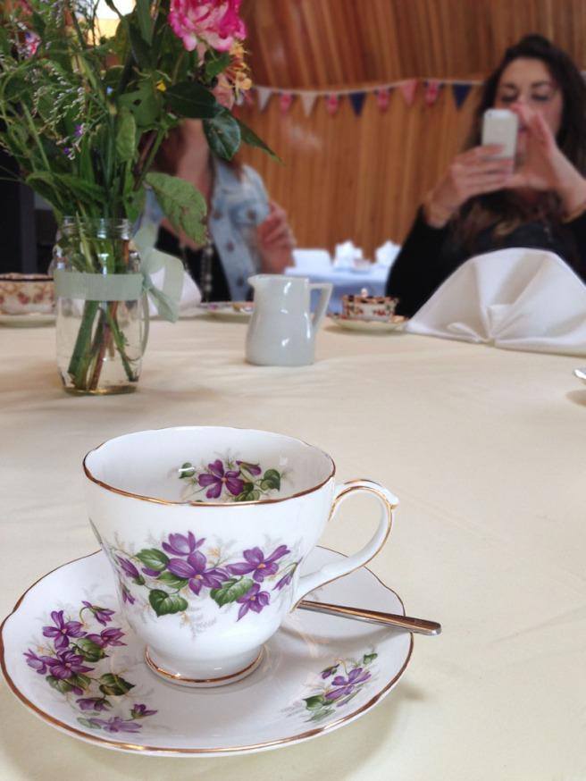 Brockholes cream tea
