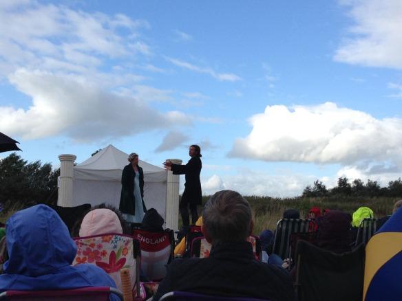 Heartbreak productions open air theatre