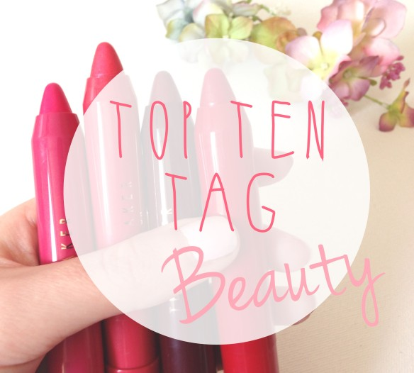 top ten beauty products